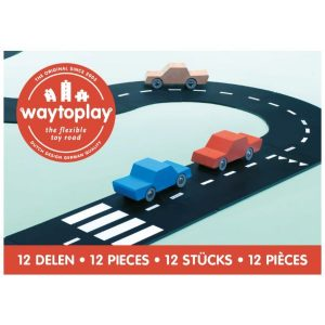 Buitenspeelgoed Way to play Ringweg – 12 delen
