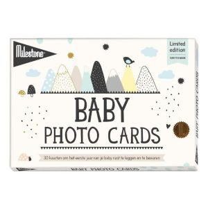 Baby Milestone® Baby Photo Cards – Over the Moon