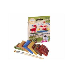 Creatief en hobby Natural earth paint discovery kit