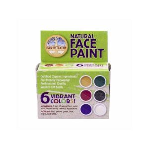 Creatief en hobby Natural earth face paint 6 kleuren [tag]