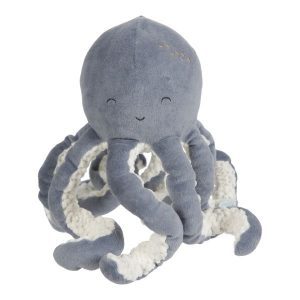 Baby Little Dutch knuffel Octopus Ocean Blauw