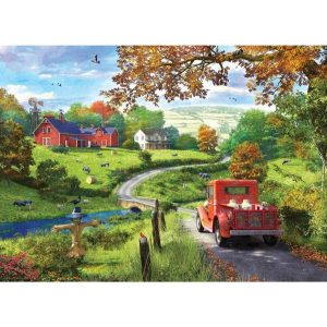 Puzzels Puzzel – The Country Drive Dominic Davison 1000 Stukjes [tag]